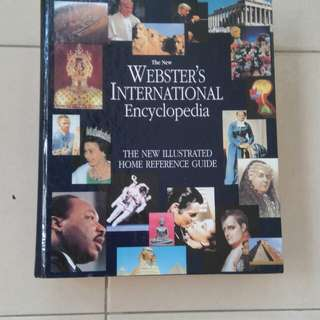 Webster 's International Encyclopedia