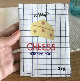 Classic cheese coin pouch