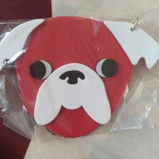 Pug key chain / bag charm