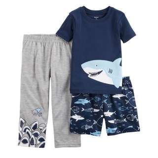 Carter's Shark Pyjamas