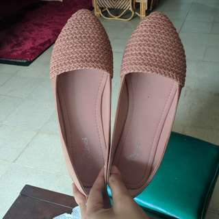 Flatshoes cardinal pink soft