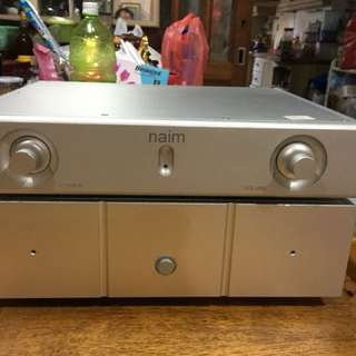 Naim pre and power amplifier - clone version