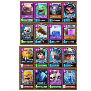 Clash royale 5.6k pb account