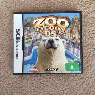 Nintendo DS Game: Zoo Tycoon DS