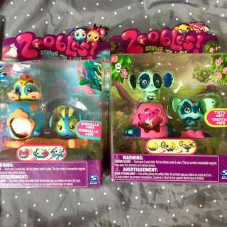 Zoobles Spring to Life Bundle - Save Php50