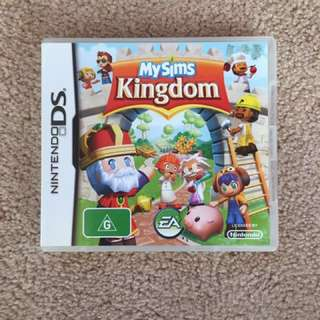 Nintendo DS Game: My Sims Kingdom