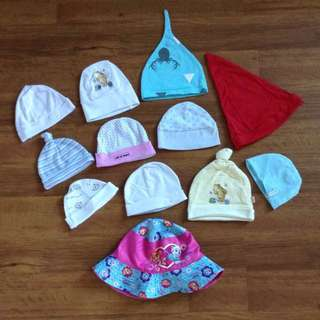 Assorted Baby Hats