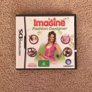 Nintendo DS Game: Imagine Fashion Designer