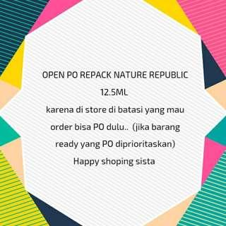 Repack Nature republic 12.5ml