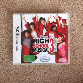 Nintendo DS Game: High School Musical 3