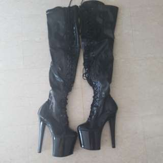 Authentic Pleaser Pole dancing boots