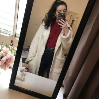 Zara teddy bear coat
