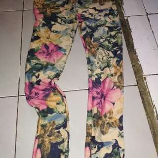 Legging print/fashion wanita/fit s