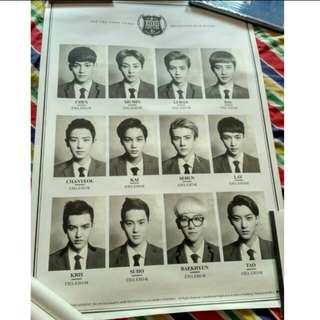 EXO XOXO OFFICIAL POSTER (B)