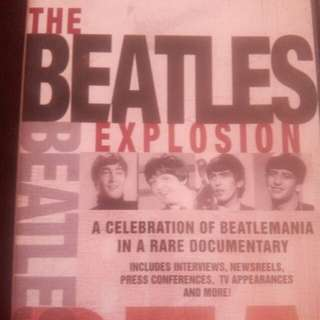 DVD IMPORTED THE BEATLES EXPLOSION SPECIAL EDITION