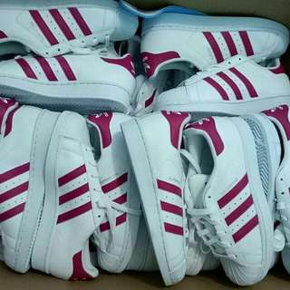 Adidas Superstar Foundation Pack White Pink