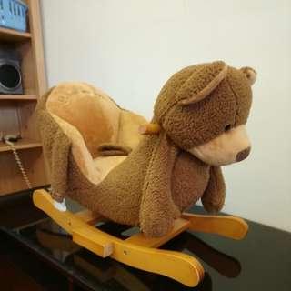 熊熊搖搖椅