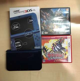 3DS LL 99%new