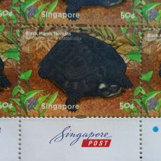 Singapore stamp 50 cents new