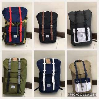 Brand New and Authentic Herschel Bags