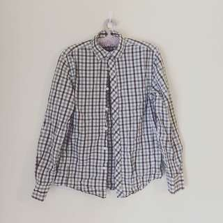 Industrie Grid Button Down