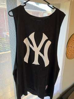 NY base ball tee