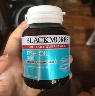 Blackmores fish oil 1000