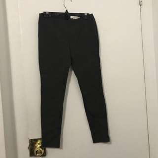 Olive Green Leggings (thick material)