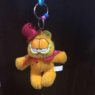 Garfield soft toy keychain