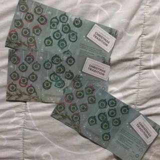 Starbucks Planner Card