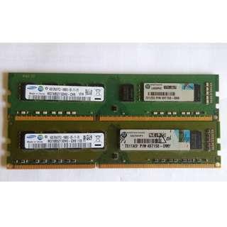 Samsung DDR3 1333 4gb x 2