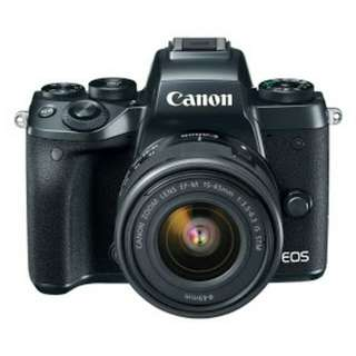 Kredit Canon EOS M5 Mirrorless Digital Camera with 15-45mm Lens - Cicilan tanpa kartu kredit