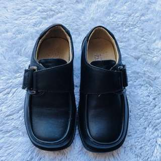 florsheim black shoes boys 1-2yo