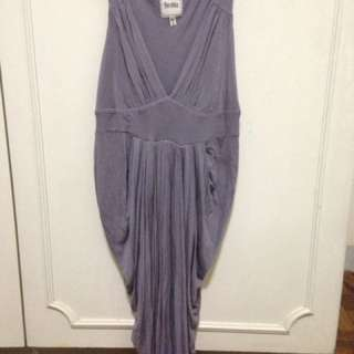 Bershka purple dress