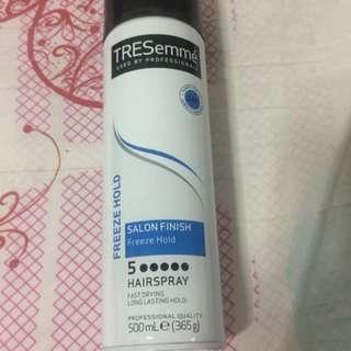 Tresemme hair spray uk