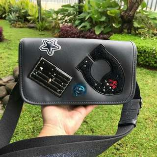 SOLD BISA PO SHAAYYYY 😍 ❣ COACH SLINGBAG PATCH 😍😍😍