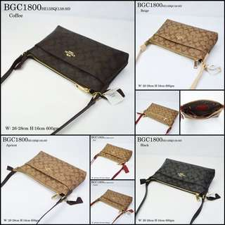 READY STOCK HIGH GRED QUALITY COACH SLING BAG