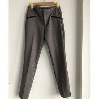 Zara brown dress pants - size small