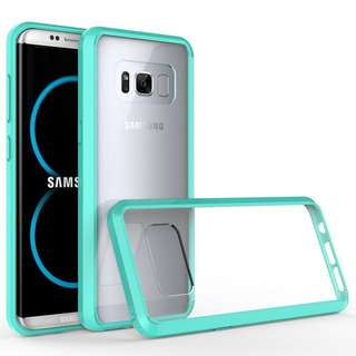 Samsung S8 case Tiffany blue