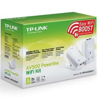 TP-LINK TL-WPA4226 KIT AV500 PASSTHROUGH POWERLINE WIFI KIT