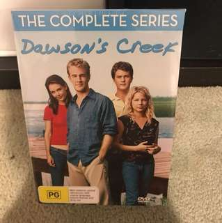 Dawson's Creek complete series unopened