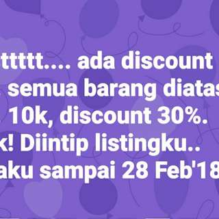 Discount.. discount..