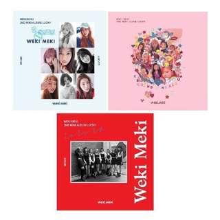 Weki Meki Lucky Album