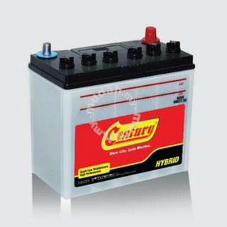 Car Battery Century Delivery 24jam
