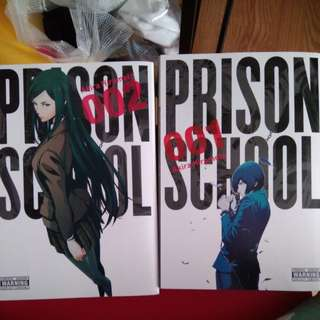 Manga Prison School volumes 1 and 2