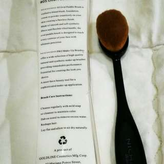 AUTHENTIC OVAL PADDLE BRUSH