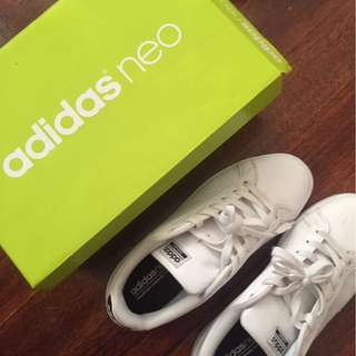 ADIDAS NEO CLOUDFOAM ADVANTAGE CLEAN SNEAKERS S9.5