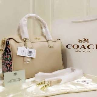 Coach bag with sling