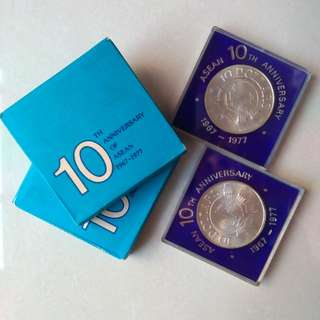 Commemorative Coin: $10 ASEAN 10th Anniversary (1967-1977)