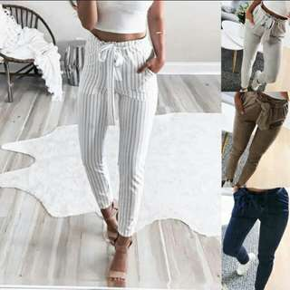 PO - High Waisted Pencil Trousers